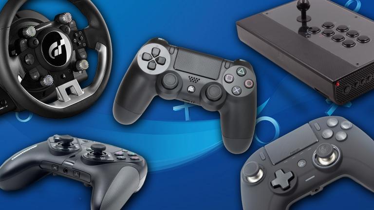 Sélection des meilleurs manettes, volants et sticks arcade pour PS4 et PS5