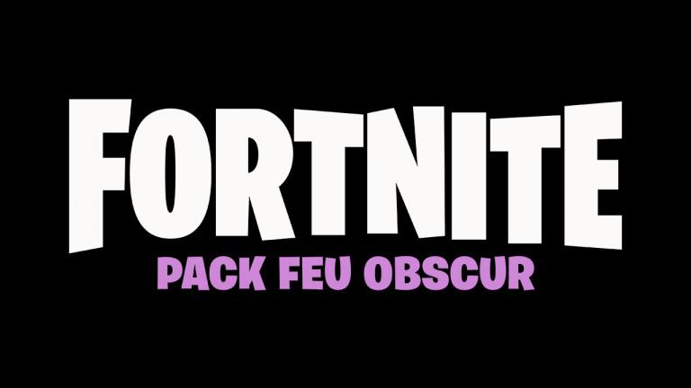 Fortnite : Le pack Feu Obscur est désormais disponible