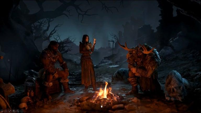 25 minutes en compagnie du Barbare de Diablo IV — Vidéo