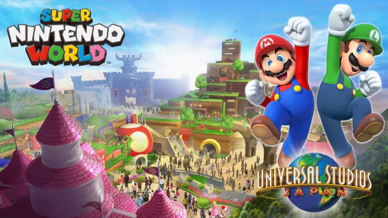 Super Nintendo World : Le land d'Universal Studios se révèle en images