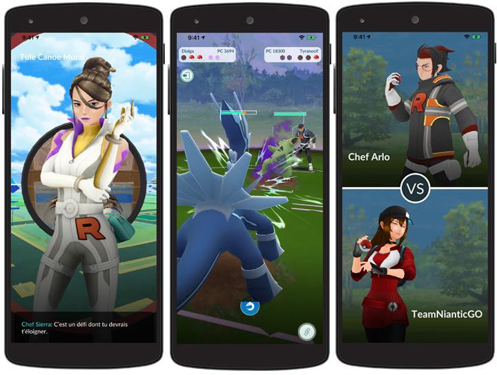 Pokémon GO : la Team Rocket est de retour avec une étude spéciale