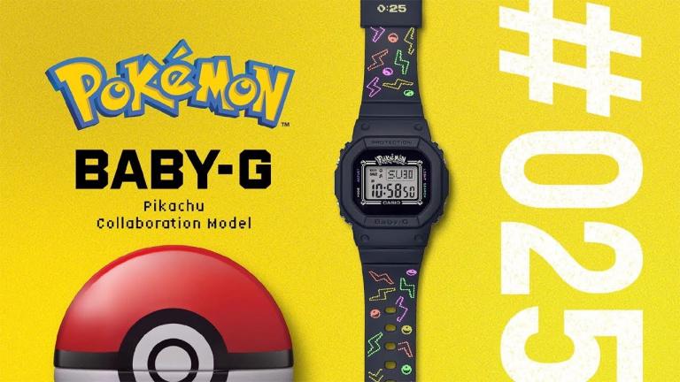 Pokémon x Casio : Une montre Pikachu au Japon