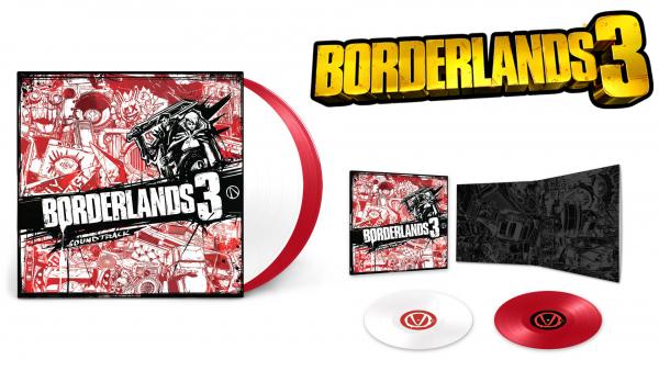 Borderlands 3 : Laced Records dédie des collections de vinyles au looter-shooter