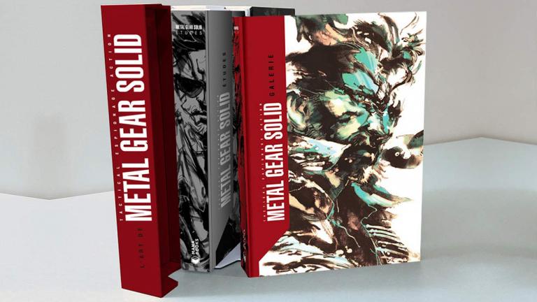 Metal Gear Solid I à IV - L'encyclopédie visuelle disponible en précommande