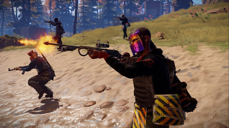 Rust : Le jeu de survie sera porté sur PS4 et Xbox One en 2020
