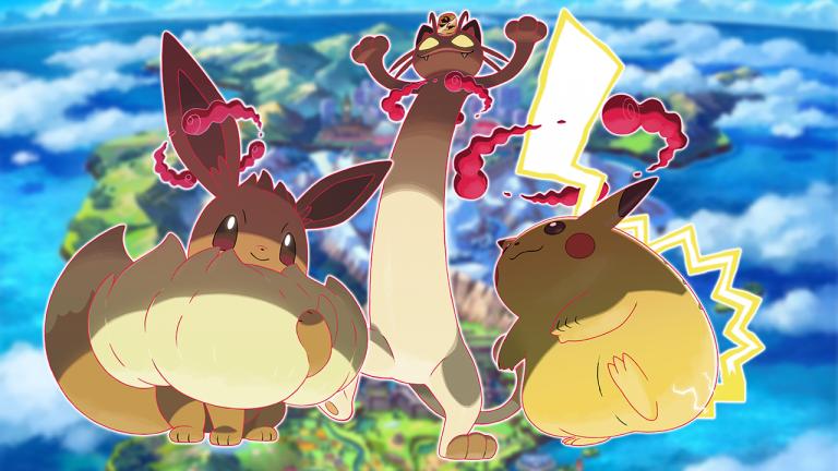 Pokémon Epée / Bouclier : comment obtenir Evoli, Pikachu et Miaouss Gigamax ?
