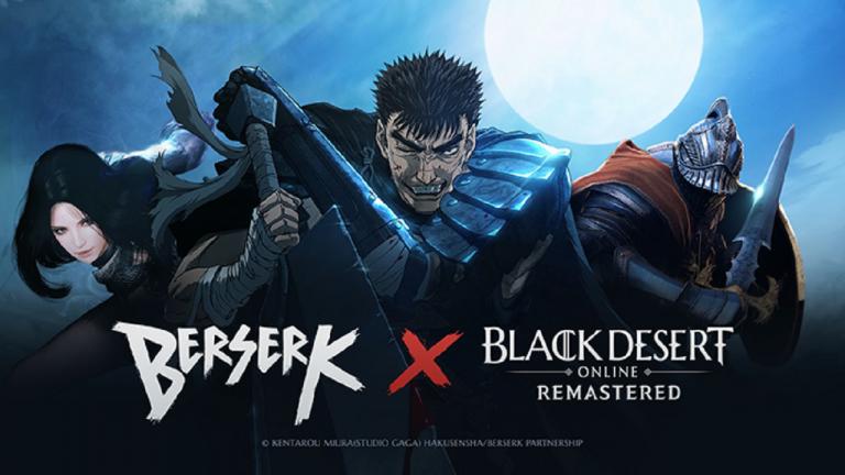 Black Desert Online lance une collaboration avec Berserk