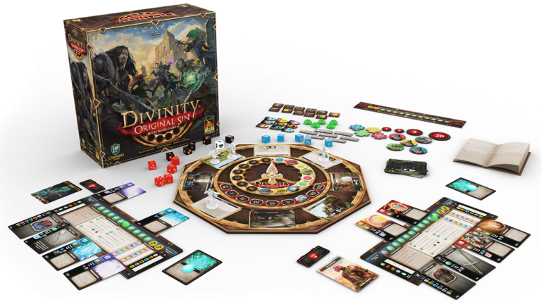 Divinity Original Sin : Larian lance l'adaptation en jeu de plateau sur Kickstarter