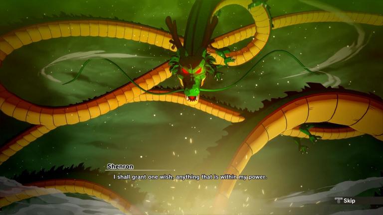 Dragon Ball Z Kakarot partage des détails sur la collecte des Dragon Balls