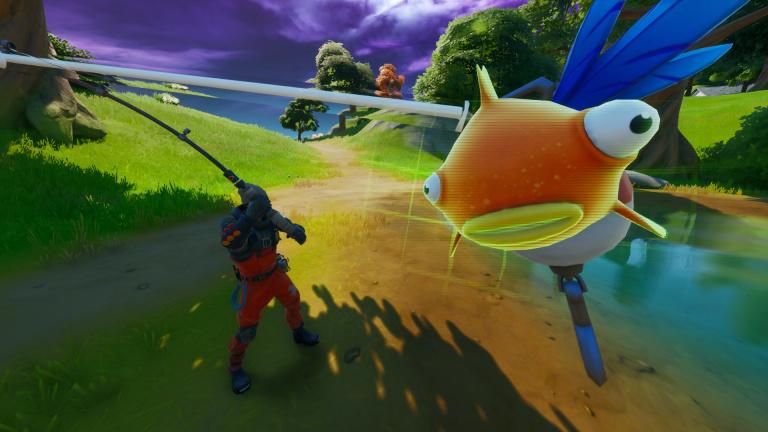 Fortnite Battle Royale organise un tournoi de pêche ce week-end