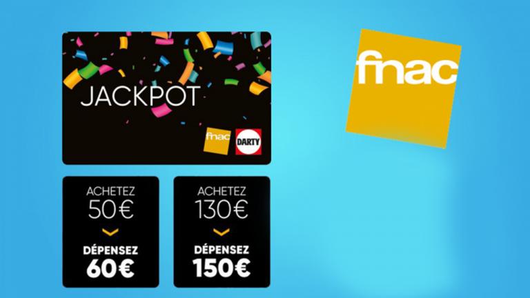 Black Friday : Le plein de promotions avec la carte JACKPOT chez la Fnac !