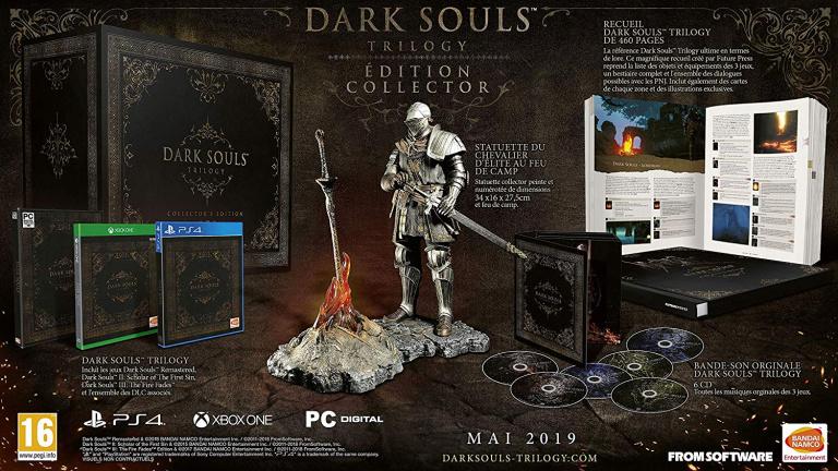 Black Friday : Dark Souls Trilogy Collector à -40% !