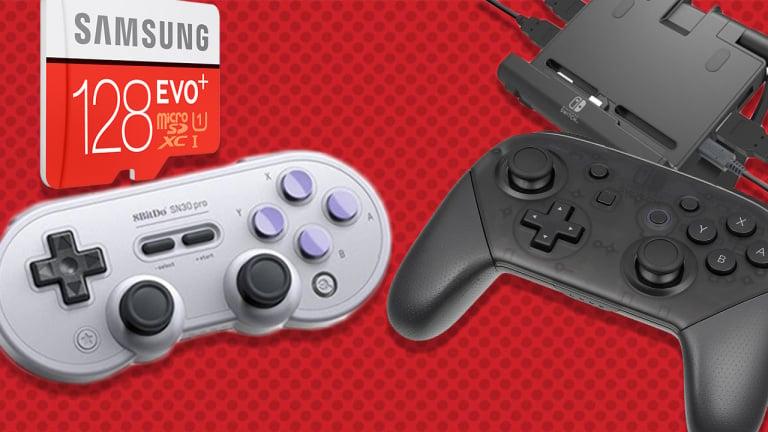 Sélection des meilleurs accessoires pour la Nintendo Switch