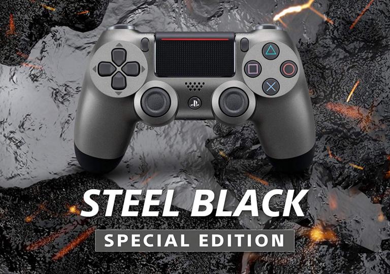 Black Friday : Manette DualShock 4 V2 pour PS4 colori Steel Black à 39,99€