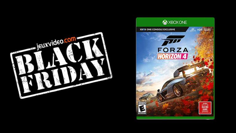 Black Friday : Forza Horizon 4 dérape jusqu'à 24,99€
