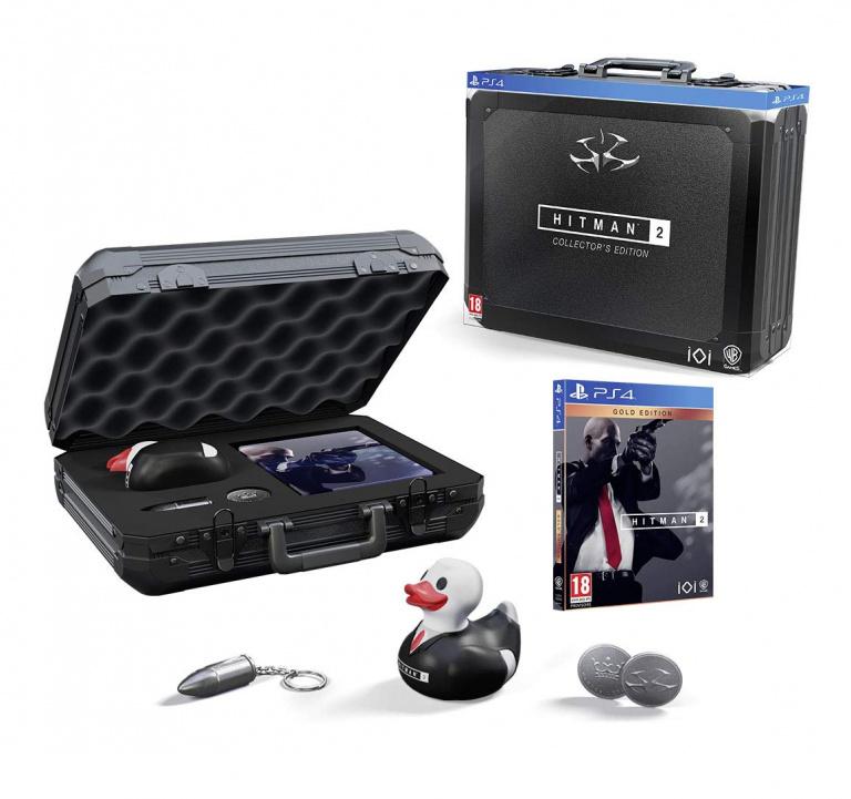 Black Friday : Hitman 2 Edition Collector Playstation 4 à 69,99€ au lieu de 149,99€