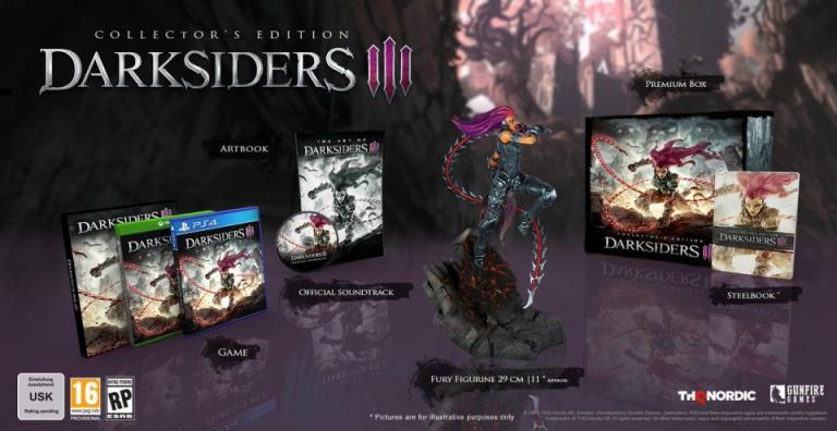 Black Friday : Darksiders III Collector's Edition à moins de 80€ au lieu de 149,99€