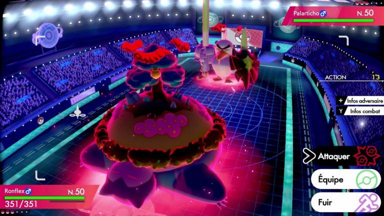 Pokémon Épée / Bouclier : Ronflex Gigamax apparaîtra bientôt dans les raids