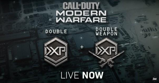 Call of Duty : Modern Warfare - Une période de double XP pour fêter la saison 1