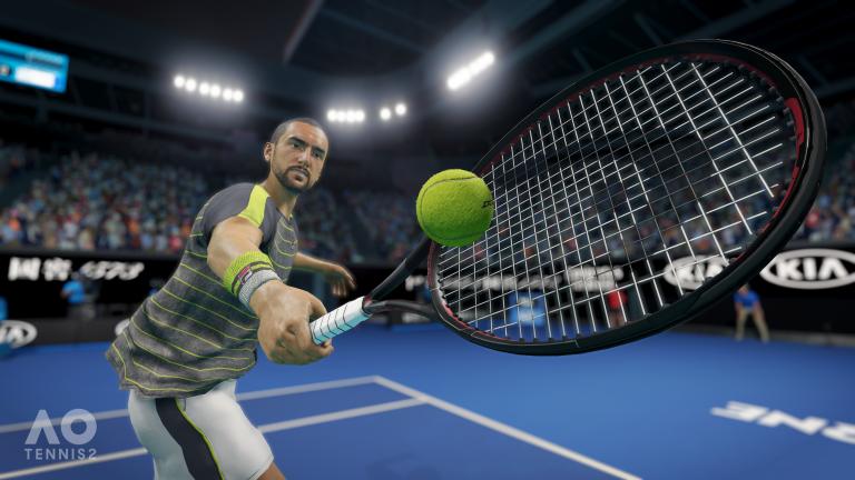 AO Tennis 2 dévoile ses principales nouveautés