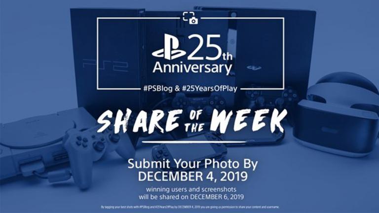 PlayStation Blog fête les 25 ans de PlayStation avec Share of the Week