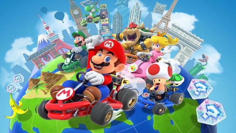 Mario Kart Tour : La prochaine ville visitée sera Londres