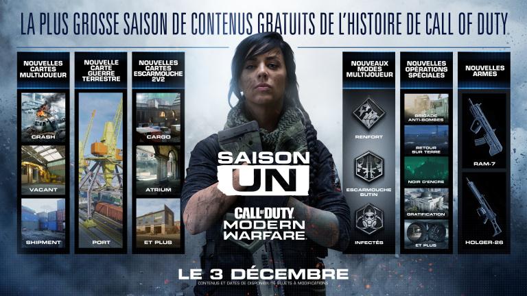 Call of Duty : Modern Warfare - le mode Escarmouche va se décliner en 1vs1 et 3vs3