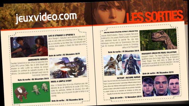Les sorties du 6 décembre : Assassin's Creed : The Rebel Collection, Nostos, ...