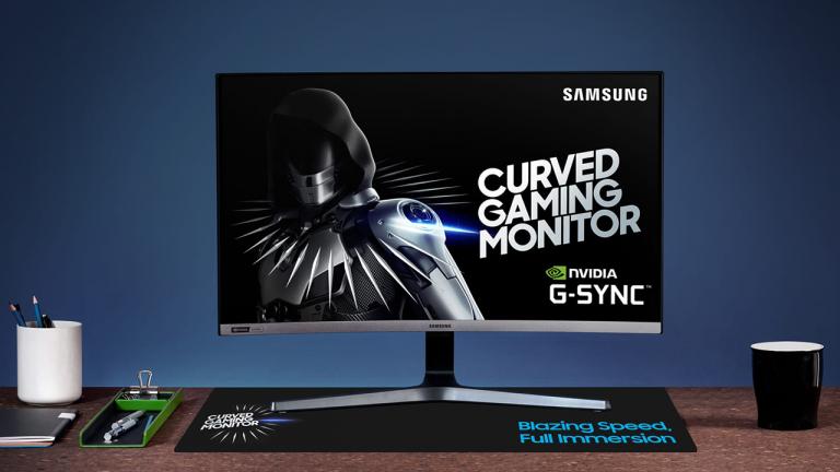 Samsung : Le Warrior nous présente l'écran C27RG50, un bijou incurvé de 27 pouces