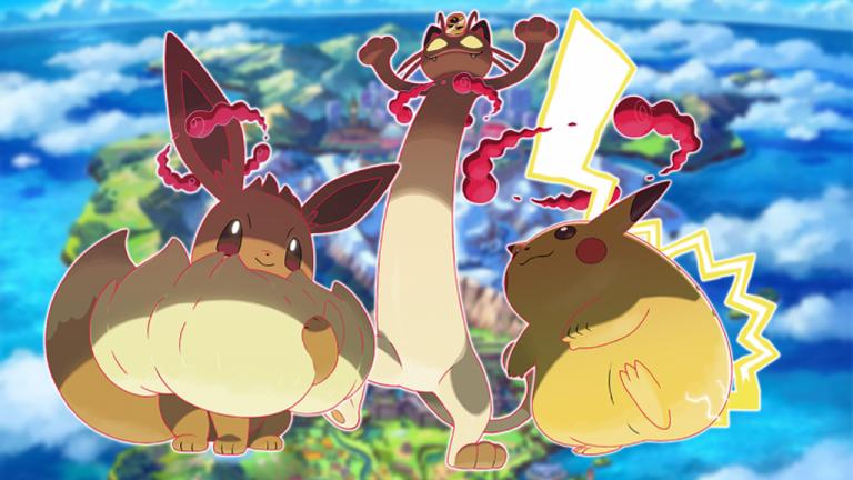 Pokémon Epée / Bouclier, Dynamax et Pokémon Gigamax : la liste complète