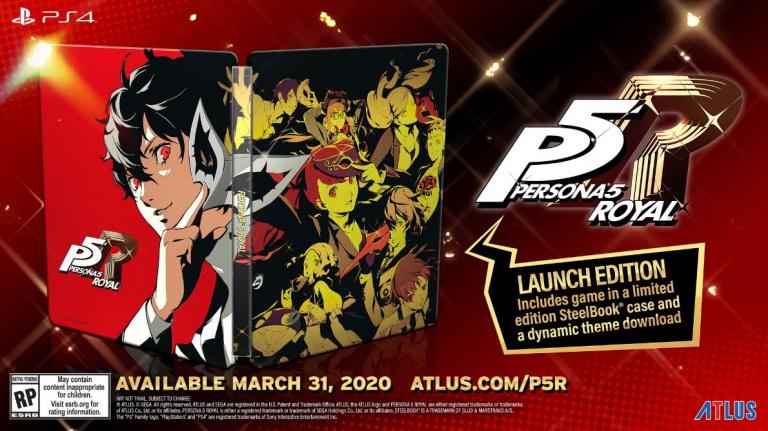 Persona 5 Royal sortira le 31 mars 2020 en Occident et en plusieurs éditions
