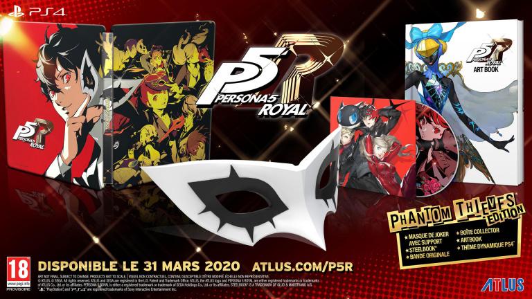 Persona 5 Royal : précommandes lancées pour la Phantom Thieves Edition et la Launch Edition
