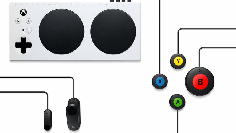 Logitech G Adaptive Gaming Kit : de nouveaux boutons pour le Xbox Adaptive Controller de Microsoft