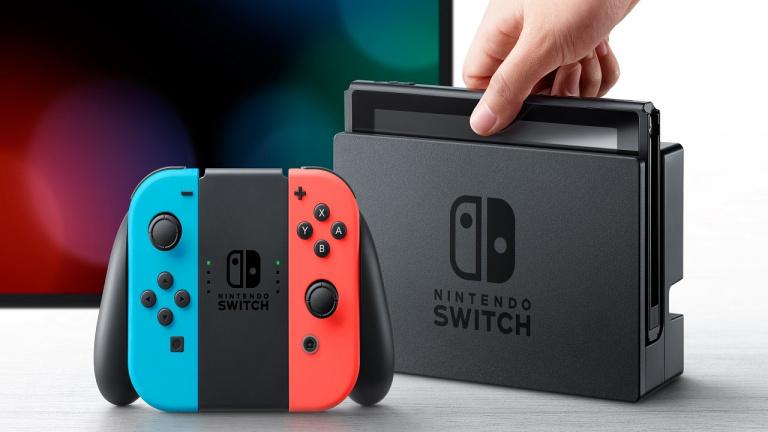 Nintendo Switch : Plus de 830 000 consoles vendues fin novembre aux Etats-Unis