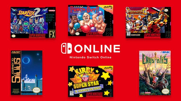 Nintendo Switch Online : six jeux SNES / NES arrivent le 12 décembre