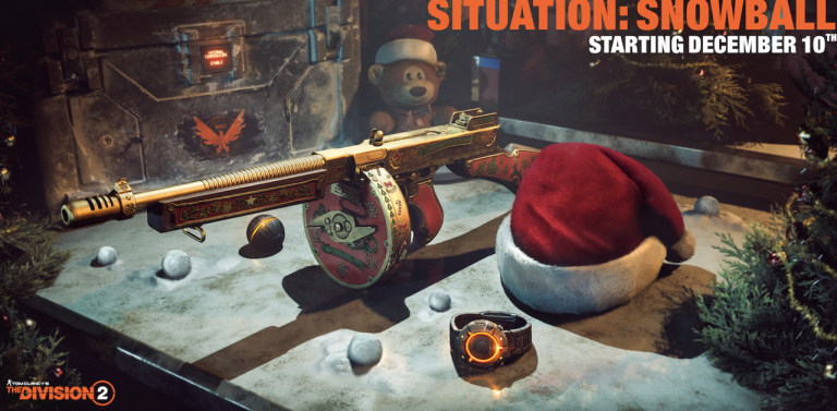 The Division 2 célèbre Noël dans une nouvelle update