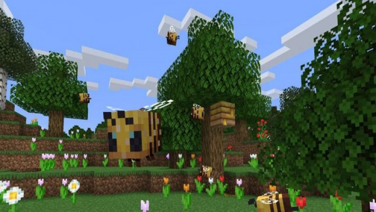Minecraft : la mise à jour dédiée aux abeilles en approche