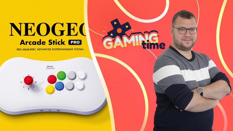 Neo Geo Arcade Stick Pro : 20 jeux, ou plutôt 40 ?