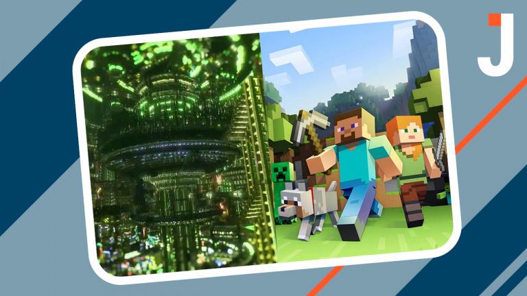 Cyberpunk Project : Night City dans Minecraft, un travail colossal