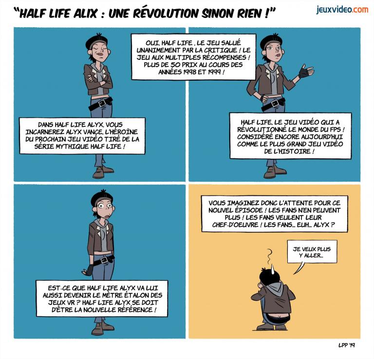 "Billet : Half Life Alyx -""Une révolution sinon rien"""
