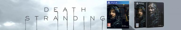Death Stranding édition spéciale et standard en baisse de prix