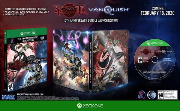 Bayonetta & Vanquish : Sega officialise le bundle sur PS4 et Xbox One