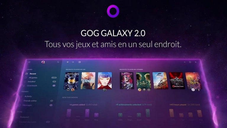 GOG Galaxy 2.0 entre en bêta ouverte