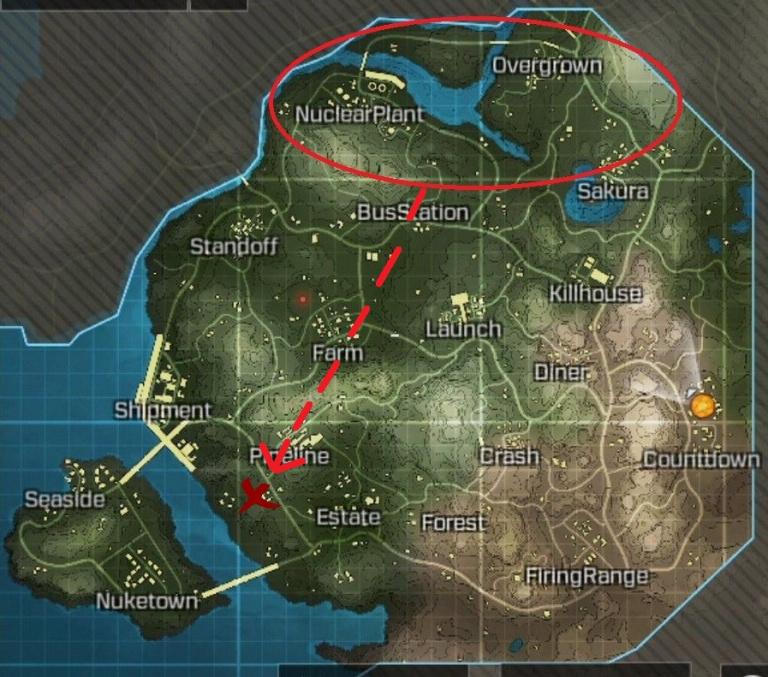 Call of Duty Mobile, saison 2 : Récupérer l'étoile des neiges et illuminez le sapin près du chapiteau (Mission Le véhicule de parade apparaît)