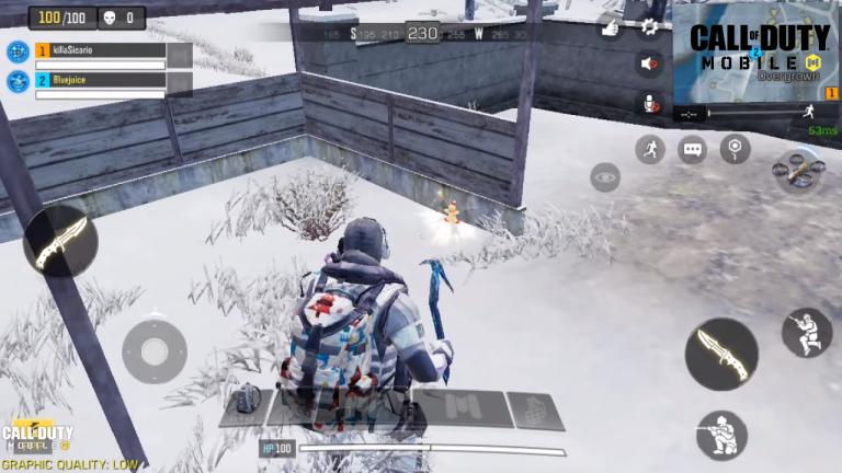 Call of Duty Mobile, saison 2 : Terminer premier en Battle Royale en détenant un Homme de pain d'épice (mission Le véhicule de parade apparaît)