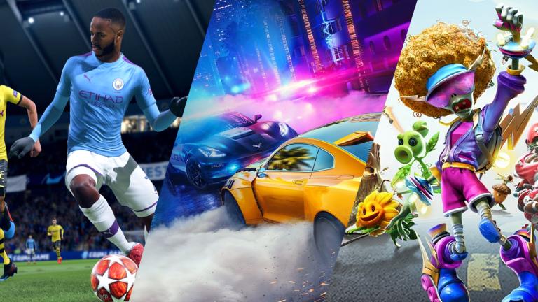 Jouez et tentez de gagner des jeux FIFA, Need for Speed et Plants VS Zombies sur PS4