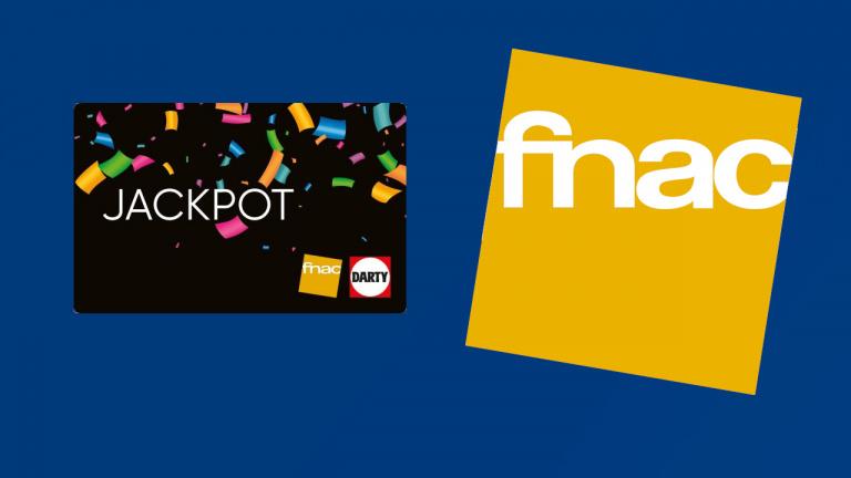 Le plein de promotions avec la carte JACKPOT chez la Fnac !