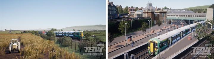 Train Sim World 2020 : Le DCL East Costway roule sur les côtes de l'Angleterre