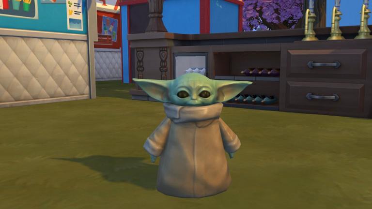 Les Sims 4 : Baby Yoda apparaît dans le jeu