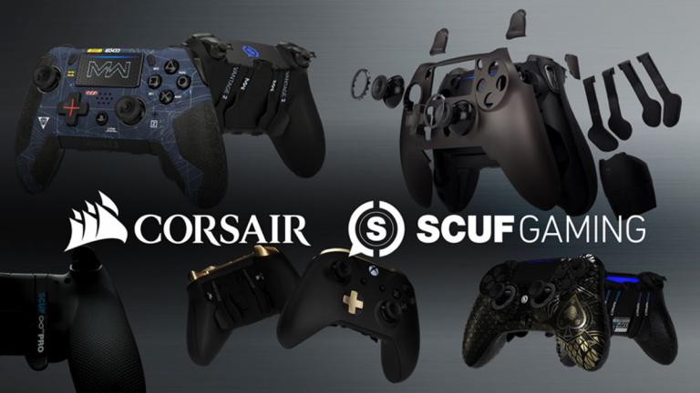 Corsair rachète SCUF Gaming et prend les commandes de ses manettes